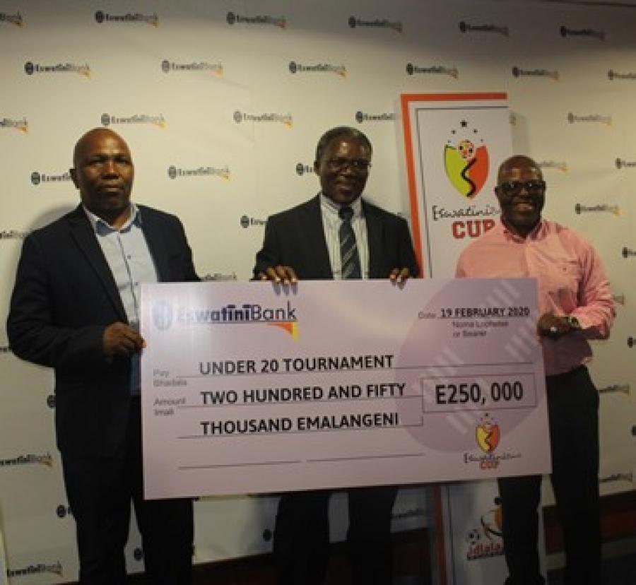 U20 IDLALA KAMNANDZI CHAMPIONS TO BANK E50 000.00