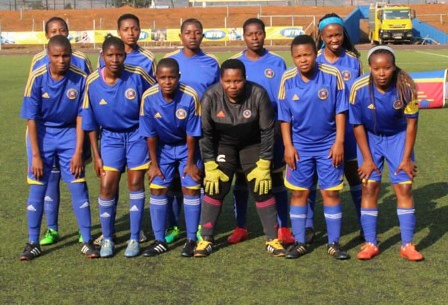SITSEBE SAMHLEKAZI , OUT OF THE 2017 COSAFA WOMEN CHAMPIONSHIP