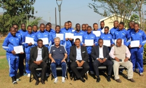 FIFA MA BASIC GOALKEEPING COURSE OFFICIALLY CLOSED