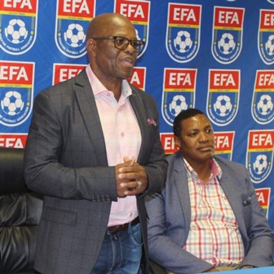 YOU ARE HEROES- EFA'S PRESIDENT MR ADAM MTHETHWA