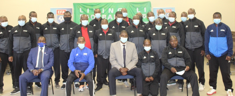 FIFA IMPLEMENTS THE FIFA MA REFEREEING ASSESSORS'COURSE IN ESWATINI