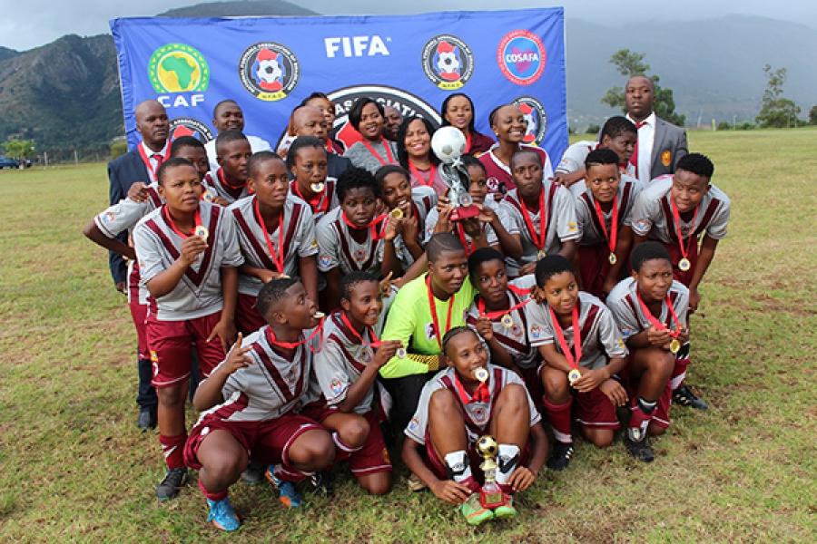 Manzini Wanderers Ladies FC are the champions