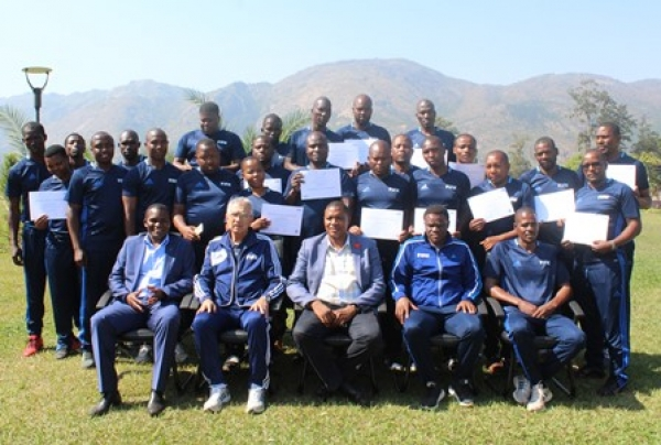 THE FIFA MA GOALKEEPING COURSE PARTICIPANTS URGED TO WORK HARD